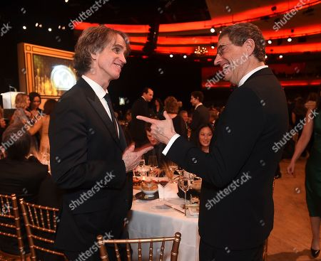 Jay Roach, Tom Rothman. Jay Roach, left, and Tom Rothman attend the 31st Annual Producers Guild Awards at the Hollywood Palladium, in Los Angeles