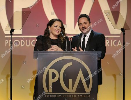 Editorial image of 31st Annual Producers Guild Awards - Inside, Los Angeles, USA - 18 Jan 2020