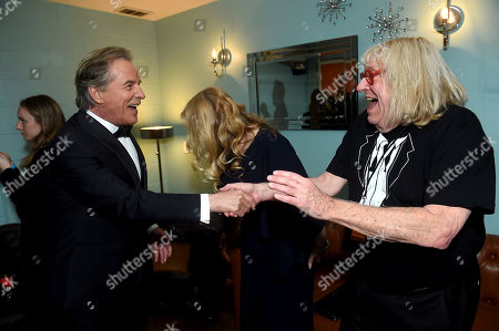 Don Johnson, Bruce Vilanch. Don Johnson, left, and Bruce Vilanch attend the 31st Annual Producers Guild Awards at the Hollywood Palladium, in Los Angeles