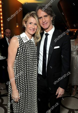 Laura Dern, Jay Roach. Laura Dern, left, and Jay Roach attend the 31st Annual Producers Guild Awards at the Hollywood Palladium, in Los Angeles