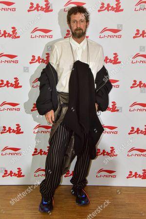 Editorial photo of Li-Ning show, Arrivals, Autumn Winter 2020, Paris Fashion Week Men's, France - 18 Jan 2020