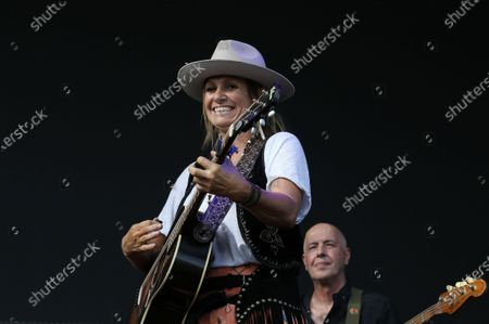 Stock Picture of Kasey Chambers performs during Cold Chisel's The Blood Moon Tour 2020 at the Tamworth Country Music Festival, in Tamworth, New South Wales, Australia, 19 January 2020. Australia's largest music festival runs from 17 to 26 January 2020.