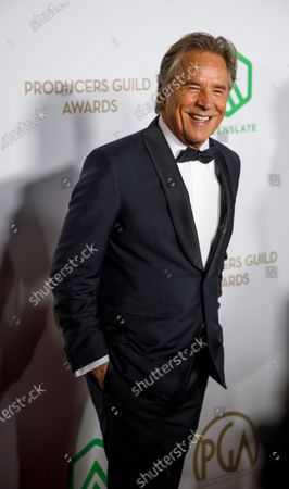 Don Johnson arrives for the Producers Guild Awards 2020 in Hollywood, California, USA, 18 January 2020. The award ceremony honors the top films and movies from 2019.