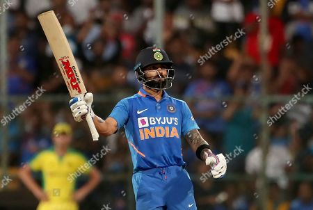 Editorial picture of Australia Cricket, Bangalore, India - 19 Jan 2020