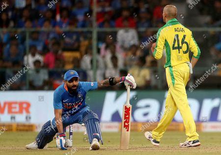 Editorial photo of Australia Cricket, Bangalore, India - 19 Jan 2020