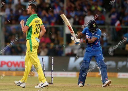 Editorial image of Australia Cricket, Bangalore, India - 19 Jan 2020