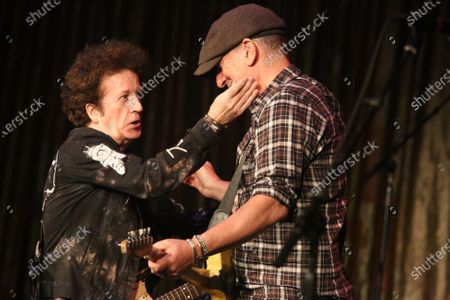 Stock Photo of Willie Nile and Bruce Springsteen