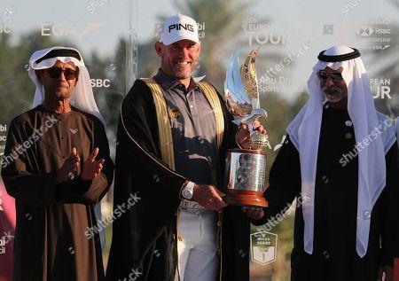 Editorial image of Golf Championship, Abu Dhabi, United Arab Emirates - 19 Jan 2020