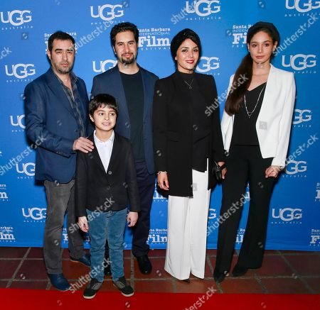 Stock Photo of Shahab Hosseini, Niousha Jafarian and Shahab Hosseini