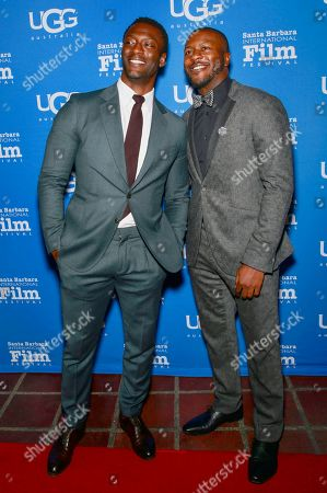 Stock Picture of Aldis Hodge and Edwin Hodge