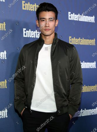 Alex Landi poses on the red carpet at the Chateau Marmont for the Entertainment Weekly celebration hosting nominees for the Screen Actors Guild Awards in Los Angeles, California, USA, 18 January 2020. The SAG Awards will be presented 19, January 2020.