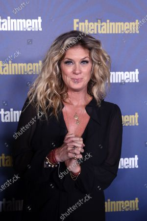 Stock Image of Rachel Hunter poses on the red carpet at the Chateau Marmont for the Entertainment Weekly celebration hosting nominees for the Screen Actors Guild Awards in Los Angeles, California, USA, 18 January 2020. The SAG Awards will be presented 19, January 2020.