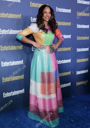 Amanda Brugel poses on the red carpet at the Chateau Marmont for the Entertainment Weekly celebration hosting nominees for the Screen Actors Guild Awards in Los Angeles, California, USA, 18 January 2020. The SAG Awards will be presented 19, January 2020.