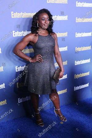 Stock Picture of Ito Aghayere poses on the red carpet at the Chateau Marmont for the Entertainment Weekly celebration hosting nominees for the Screen Actors Guild Awards in Los Angeles, California, USA, 18 January 2020. The SAG Awards will be presented 19, January 2020.
