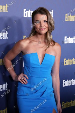 Andrea Boehlke poses on the red carpet at the Chateau Marmont for the Entertainment Weekly celebration hosting nominees for the Screen Actors Guild Awards in Los Angeles, California, USA, 18 January 2020. The SAG Awards will be presented 19, January 2020.