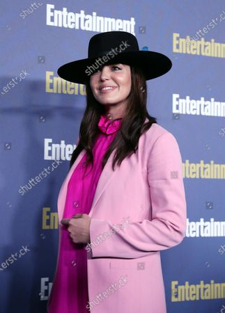 Marta Milans poses on the red carpet at the Chateau Marmont for the Entertainment Weekly celebration hosting nominees for the Screen Actors Guild Awards in Los Angeles, California, USA, 18 January 2020. The SAG Awards will be presented 19, January 2020.