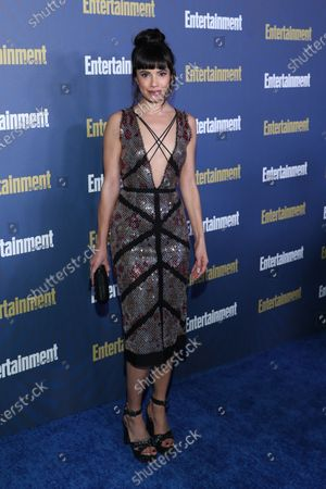 Jenna Lyng Adams poses on the red carpet at the Chateau Marmont for the Entertainment Weekly celebration hosting nominees for the Screen Actors Guild Awards in Los Angeles, California, USA, 18 January 2020. The SAG Awards will be presented 19, January 2020.