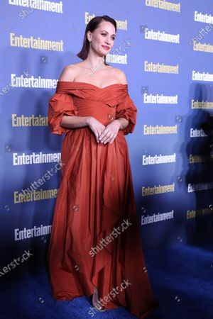 Kristen Gutoskie poses on the red carpet at the Chateau Marmont for the Entertainment Weekly celebration hosting nominees for the Screen Actors Guild Awards in Los Angeles, California, USA, 18 January 2020. The SAG Awards will be presented 19, January 2020.