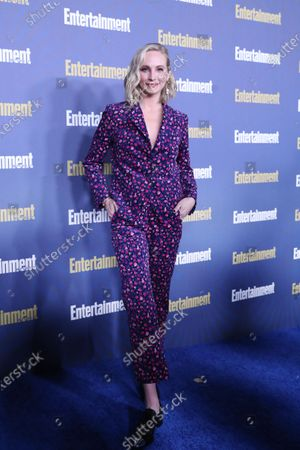 Candice King poses on the red carpet at the Chateau Marmont for the Entertainment Weekly celebration hosting nominees for the Screen Actors Guild Awards in Los Angeles, California, USA, 18 January 2020. The SAG Awards will be presented 19, January 2020.