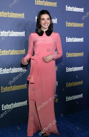 Francesca Reale poses on the red carpet at the Chateau Marmont for the Entertainment Weekly celebration hosting nominees for the Screen Actors Guild Awards in Los Angeles, California, USA, 18 January 2020. The SAG Awards will be presented 19, January 2020.