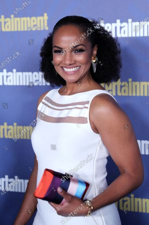Mekia Cox poses on the red carpet at the Chateau Marmont for the Entertainment Weekly celebration hosting nominees for the Screen Actors Guild Awards in Los Angeles, California, USA, 18 January 2020. The SAG Awards will be presented 19, January 2020.