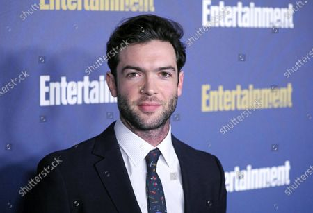 Ethan Peck poses on the red carpet at the Chateau Marmont for the Entertainment Weekly celebration hosting nominees for the Screen Actors Guild Awards in Los Angeles, California, USA, 18 January 2020. The SAG Awards will be presented 19, January 2020.