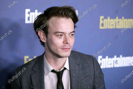 Charlie Heaton poses on the red carpet at the Chateau Marmont for the Entertainment Weekly celebration hosting nominees for the Screen Actors Guild Awards in Los Angeles, California, USA, 18 January 2020. The SAG Awards will be presented 19, January 2020.