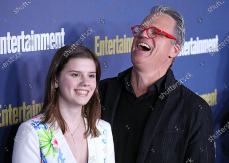 US actors Kathleen Rose Park and Michael Park pose on the red carpet at the Chateau Marmont for the Entertainment Weekly celebration hosting nominees for the Screen Actors Guild Awards in Los Angeles, California, USA, 18 January 2020. The SAG Awards will be presented 19, January 2020.
