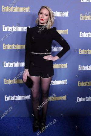 Anna Camp poses on the red carpet at the Chateau Marmont for the Entertainment Weekly celebration hosting nominees for the Screen Actors Guild Awards in Los Angeles, California, USA, 18 January 2020. The SAG Awards will be presented 19, January 2020.