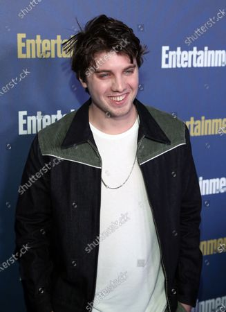 Lukas Gage poses on the red carpet at the Chateau Marmont for the Entertainment Weekly celebration hosting nominees for the Screen Actors Guild Awards in Los Angeles, California, USA, 18 January 2020. The SAG Awards will be presented 19, January 2020.