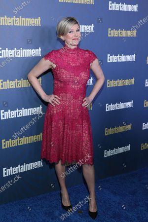 Jennifer Robertson poses on the red carpet at the Chateau Marmont for the Entertainment Weekly celebration hosting nominees for the Screen Actors Guild Awards in Los Angeles, California, USA, 18 January 2020. The SAG Awards will be presented 19, January 2020.