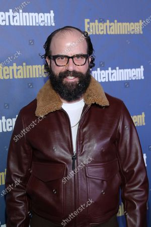 Brett Gelman poses on the red carpet at the Chateau Marmont for the Entertainment Weekly celebration hosting nominees for the Screen Actors Guild Awards in Los Angeles, California, USA, 18 January 2020. The SAG Awards will be presented 19, January 2020.