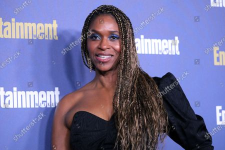 Merrin Dungey poses on the red carpet at the Chateau Marmont for the Entertainment Weekly celebration hosting nominees for the Screen Actors Guild Awards in Los Angeles, California, USA, 18 January 2020. The SAG Awards will be presented 19, January 2020.
