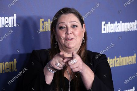 Camryn Manheim poses on the red carpet at the Chateau Marmont for the Entertainment Weekly celebration hosting nominees for the Screen Actors Guild Awards in Los Angeles, California, USA, 18 January 2020. The SAG Awards will be presented 19, January 2020.