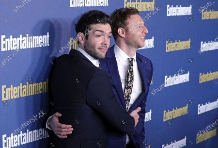Stock Photo of Ethan Peck (L) poses on the red carpet at the Chateau Marmont for the Entertainment Weekly celebration hosting nominees for the Screen Actors Guild Awards in Los Angeles, California, USA, 18 January 2020. The SAG Awards will be presented 19, January 2020.