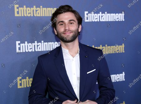 Jake Borelli poses on the red carpet at the Chateau Marmont for the Entertainment Weekly celebration hosting nominees for the Screen Actors Guild Awards in Los Angeles, California, USA, 18 January 2020. The SAG Awards will be presented 19, January 2020.