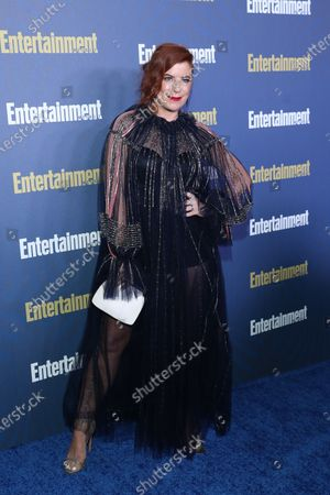 Michelle Pesce poses on the red carpet at the Chateau Marmont for the Entertainment Weekly celebration hosting nominees for the Screen Actors Guild Awards in Los Angeles, California, USA, 18 January 2020. The SAG Awards will be presented 19, January 2020.