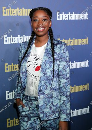 Diona Reasonover poses on the red carpet at the Chateau Marmont for the Entertainment Weekly celebration hosting nominees for the Screen Actors Guild Awards in Los Angeles, California, USA, 18 January 2020. The SAG Awards will be presented 19, January 2020.