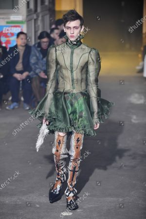 Palomo Spain Show Runway Paris Fashion Week Stock Photos Exclusive Shutterstock