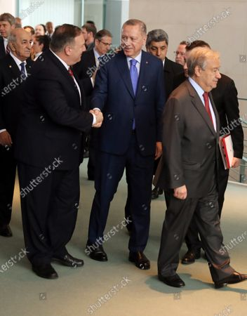 Editorial picture of International Libya Conference in Berlin, Turkey - 19 Jan 2020