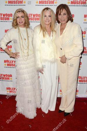 Donna Mills, Joan Van Ark and Michele Lee