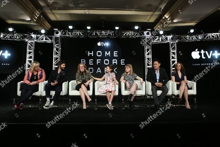 Joy Gorman Wettles, Jim Sturgess, Dana Fox, Brooklynn Prince, Hilde Lysiak, Jon M. Chu and Dara Resnik