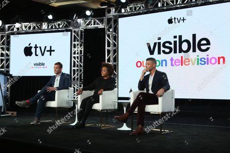 Ryan White, Wanda Sykes and Wilson Cruz