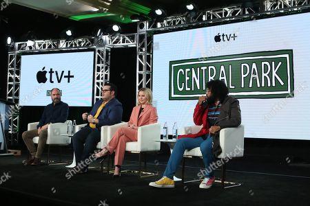 Loren Bouchard, Josh Gad, Kristen Bell and David Diggs
