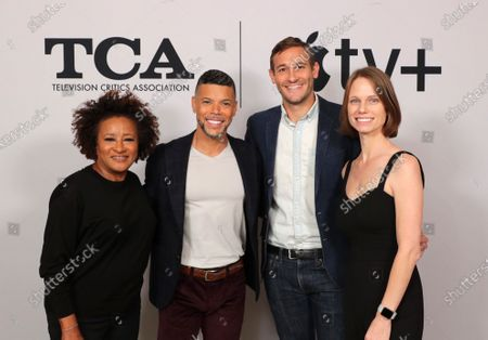 """Wanda Sykes, Executive Producer, Wilson Cruz, Executive Producer, Ryan White, Director/Executive Producer, and Jessica Hargrave from """"Visible: Out on Television"""" at the Apple TV+ 2020 Winter TCA at The Langham Huntington Pasadena."""
