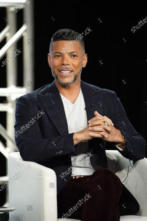 """Wilson Cruz, Executive Producer, from """"Visible: Out on Television"""" speaks at the Apple TV+ 2020 Winter TCA at The Langham Huntington Pasadena."""