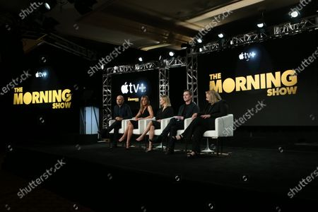 Michael Ellenberg, Jennifer Aniston, Reese Witherspoon, Billy Crude and Mimi Leder