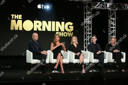 Editorial image of 'The Morning Show' TV show, Apple TV, TCA Winter Press Tour, Panels, Los Angeles, USA - 19 Jan 2020