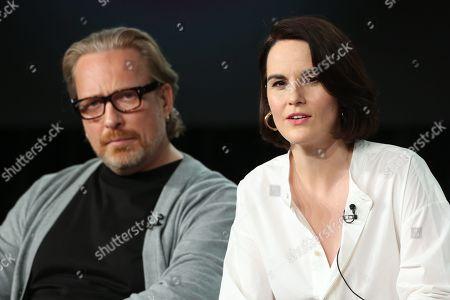 Editorial image of 'Defending Jacob' TV show, Apple TV, TCA Winter Press Tour, Panels, Los Angeles, USA - 19 Jan 2020