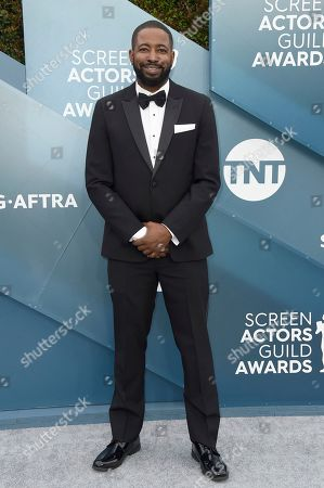 Stock Photo of Jamaal Finkley arrives at the 26th annual Screen Actors Guild Awards at the Shrine Auditorium & Expo Hall, in Los Angeles